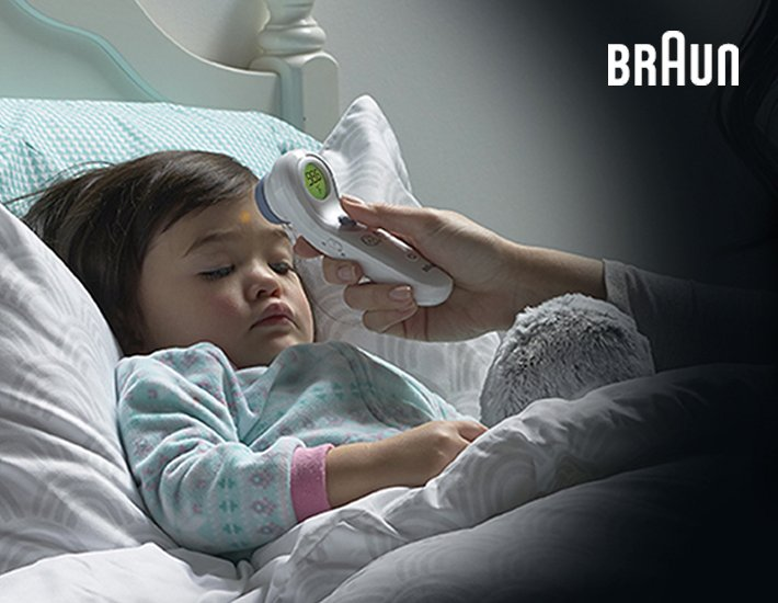 Braun thermometers in New Zealand