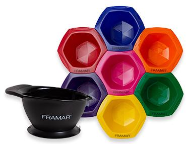 Framar Interlocking Colouring Bowls