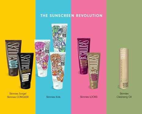 Skinnies - Sunscreen revolution in NZ